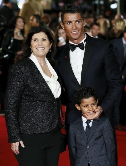 Familia de Cristiano Ronaldo